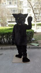 Cougar Mascot Costume Suit Cosplay Party Game Dress Outfit Advertising Halloween
