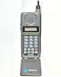Storno Microtac 9800x Lcd - Brick Cell Phone Mobile Telephone Vintage Retro