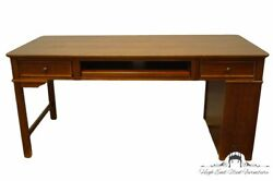 Stanley Furniture Cherry Contemporary Modern 66 Writing Computer Office Desk