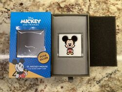 Chibi™ Coin Collection Disney Series Mickey Mouse 1oz Silver Coin In Hand