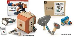 Nintendo Labo Toy-con 04 Vr Kit /toy-con 02 Robot-switch Buy Together