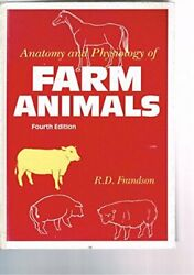 Anatomy And Physiology Of Farm Animals By Frandson, Rowen Dale Hardback Book The