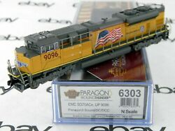 N Scale Emd Sd70ace Locomotive W/dcc And Sound - Union Pacific 9096 - Bli 6303