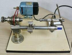 Excellent Clock Makers / Watchmakers 8mm Swiss Star Lathe With Variable Speed