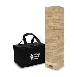Yard Games Large Tumbling Timbers And Giant 4 In A Row Outdoor Game Bundle