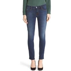 New With Tags L'agence Coco Straight Leg Jeans In Tru Blu Size 25 Designer