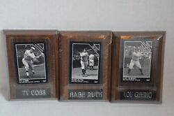 The Sporting News Conlon Collection, Babe Ruth, Ty Cobb, Lou Gehrig, Cards