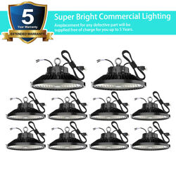 10 Ufo Led High Bay Light 200w 150w 100w 240w Factory Commercial Light Fixture
