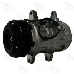 A/c Compressor And Clutch- New Four Seasons 58343