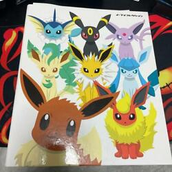 Pokemon Eevee Collection File All Types Complete Set From Japan