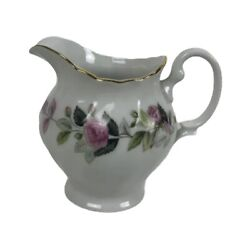Regency Rose By Creative Creamer 3 3/4 Inches 10 Fluid Ounces Vintage