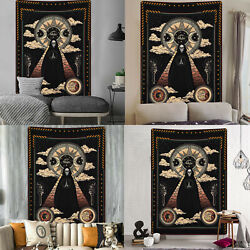 Mandala Tapestry Hippie Psychedelic Skull Wall Hanging Art Blanket Home Decor US