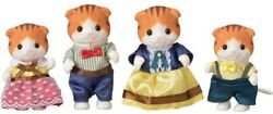 Sylvanian Families Maple Cat Family Fs-30 Calico Critters Epoch