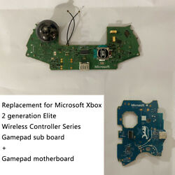 Replacement Board For Microsoft Xbox Two 2 Generation Elite Wireless Controller