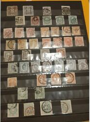 Collection Of Rare Japanese Stamps Rare Types Of Quenching