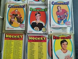 1971-72 O Pee Chee Complete Card Set