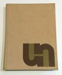 Vintage 1967 Unh University Of New Hampshire The Granite Yearbook Nh Wildcats