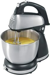 Hamilton Beach 6 Speed classic Hand And Stand Mixer Black Model 64650
