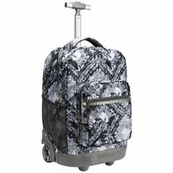 18 inches Wheeled Rolling Backpack for Boys and Girls School Student Gray $99.21