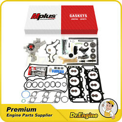 Head Gasket Set Timing Chain Kit Water Pump Fit 05-10 Ford Mustang V6 4.0l
