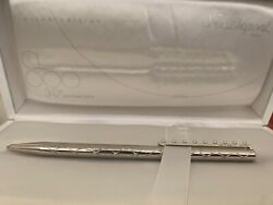 S.t. Dupont 30th Aniversary Ballpoint Pen 1 Of 1,000 Made Limited Edition