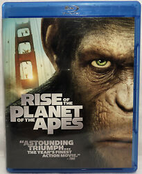 Rise Of The Planet Of The Apes Blu-ray Disc Movie 2011 Andy Serkis