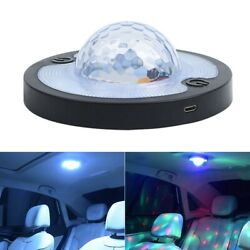 Led Car Vehicle Interior Indoor Roof Ceiling Dome Light Bulb Reading Dj Lamp Usb