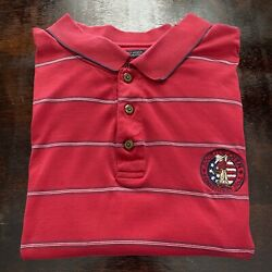 The Pinehurst Collection Mens Size Xxl Golf Polo Shirt, Red 2005 Us Open Logo