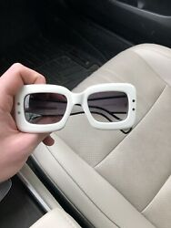 Marc Jacobs Fashion Show Style Mj 501/s Sunglasses White And Black Eis9c 50 22 140