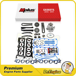 Head Gasket Set Timing Chain Kit Water Pump Fit 04-08 Ford E150 E250 E-350 5.4l