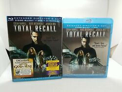 Total Recall Blu-ray/dvd, 2012, 3-disc Set, Includes Digital Copy Extended Cut