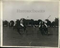 1929 Press Photo Us International Polo Team At Meadowbrook In Ny - Net13881