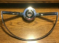 Nos 1966 Ford Falcon Horn Ring Assembly