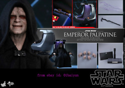 Hot Toys Mms468 Star Wars Episode Vi -1/6th Emperor Palpatine Deluxe Version)