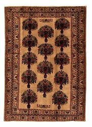 Hand-knotted Carpet 6and0397 X 9and0395 Traditional Vintage Wool Rug...discounted