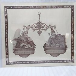 Arthur Szyk 1974 Sumers Gallery Nyc Exhibition Poster Great Condition No Frame