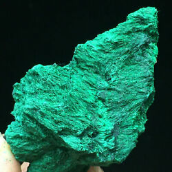 161g Natural Green Acicular Malachite Crystal Cluster Mineral Specimen Congo