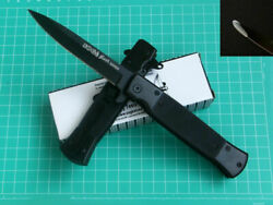 Assisted Opening Saber Sog Knife Outdoor Tactical Camping Tools 4-6 Days To Usa