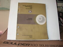 John Deere 6414d And 6414t Oem Engines And Accessories Parts Manual Pc-1471