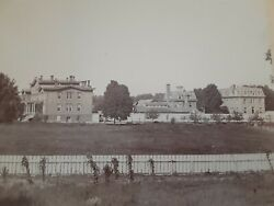 1895 Orig Vintage Large Cabinet 8x10 Photo By Burger Poughkeepsie Ny Poor House
