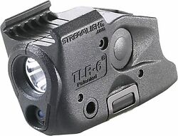 Tlr-6 Fits Glock 17/22 And 19/23 Black White Led Combo W Red Laser Batt Included