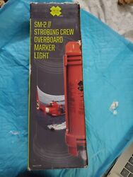 New Militaryacr Sm-2 Automatic Strobing Crew-overboard Marker Light Uscg