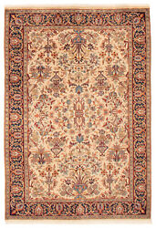 Hand-knotted Tribal Carpet 4and0390 X 6and0394 Traditional Vintage Wool Rug