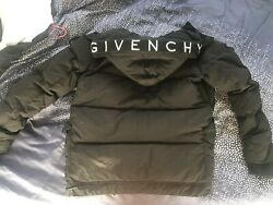 Authentic Givenchy Men's Hooded Down Puffer Jacket