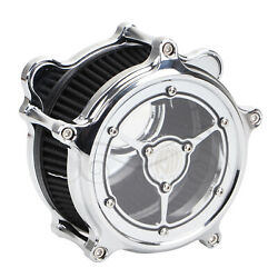 Clarity Rsd Air Cleaner Black Filter For Harley Dyna Fxdwg Road King Flhrs Flhr