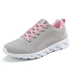 Girl Womenand039s Mesh Sneaker Casual Athletic Sport Light Tennis Shoes Size 5 To 10