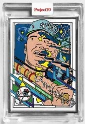 Topps Project 70 Card 157 2021 Mickey Mantle By Ermsy Artist Proof /51