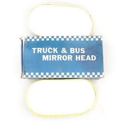 Mirror Head Accessories Nos Fits Vintage Classic Truck Bus Made In Taiwan