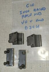 Emco Compact 10 Lathe Parts Imperial Half Nuts And Mounting Plates D24u