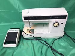 Rare Sears Best Kenmore Sewing Machine 158.1980 And Kenmore Power Pack Pedal